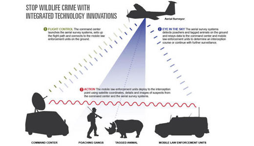 Google-funded spy tech to prey on poachers