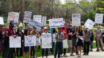 Faculty union at Univ. of Illinois ends strike; contract vote May 5