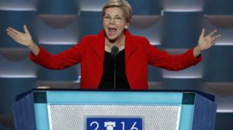 Sen. Elizabeth Warren: Organize unions to end boom and bust economy