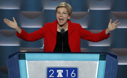Sen. Elizabeth Warren: Organize unions to end boom and bust economy
