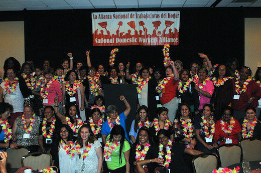 Domestic workers come out of shadows, into labor movement