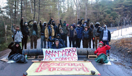 Fracking encroaches on Pennsylvania forests