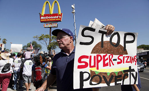 Fast food protests to go global May 15