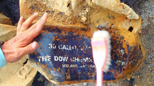 Dioxins unearthed at U.S. base in Okinawa stir furor
