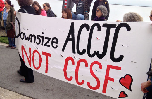 City College of San Francisco: 99% vs. corporate education reform