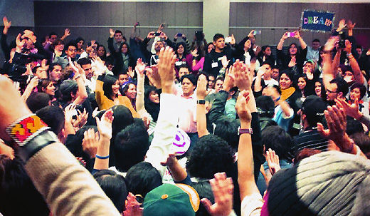 Largest ever gathering of undocumented youth held