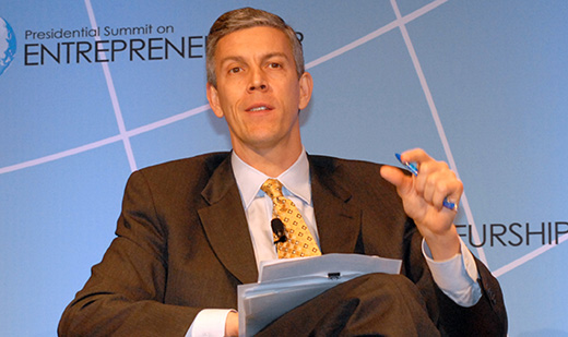 Arne Duncan's $800 million fight