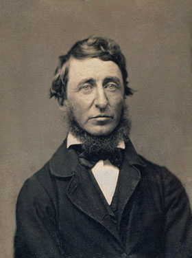 "Today in eco-history: Thoreau wrote ""Wildness is the preservation of the world"""