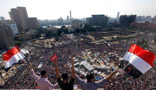 Massive protests in Egypt call for Morsi's ouster
