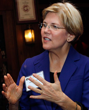 Despite attack ads, Elizabeth Warren gains steam (with video)
