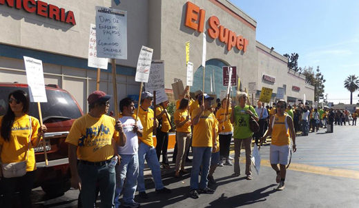 El Super grocery workers in LA demand fair contract
