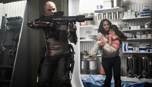 """Elysium"" gives sci-fi twist to immigration, health care"