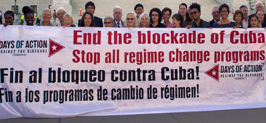 Actions planned in D.C. to end blockade of Cuba