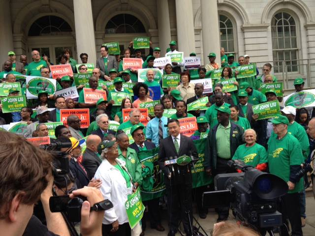 NYC AFSCME Council endorses Liu in mayoral race