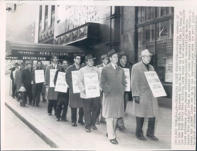 Today in labor history: Photo engravers go on strike