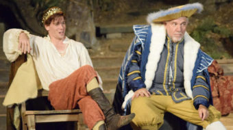 "A playwright named ""Shagspeare"" in Bill Cain's ""Equivocation"""