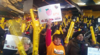 Coalition takes UPK fight to Albany