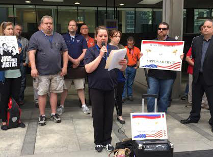 Retaliation at Illinois factory ignites labor alliance