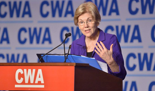 Elizabeth Warren: Some on Wall Street should be in handcuffs