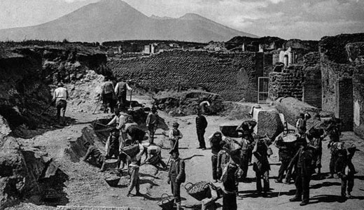 Today in eco-history: Ruins of Pompeii discovered