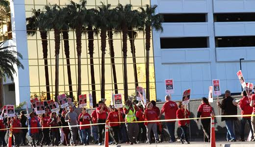 NLRB rules Unite Here won vote at Trump Las Vegas casino