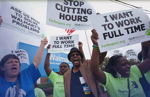Workers and lawmakers team up to force fair scheduling at Walmart