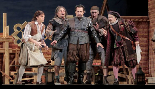 "In Verdi's ""Falstaff,"" all the world's a jest"
