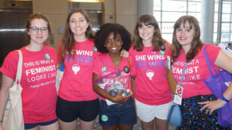 Women of the DNC come together to elect Hillary Clinton