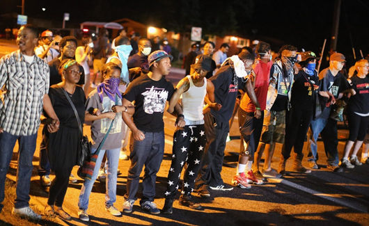 Activists plan for Ferguson protests after grand jury decision