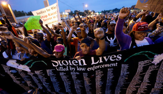 Ferguson community struggles for justice, unity and peace