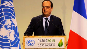 """Paris, a beacon of hope"": Words of solidarity as COP 21 opens"