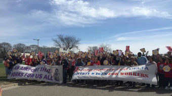 Video: Minnesotans march for worker rights, $15 an hour