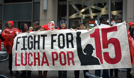 CWA'S Cohen ties fight vs. income inequality to fight for democracy