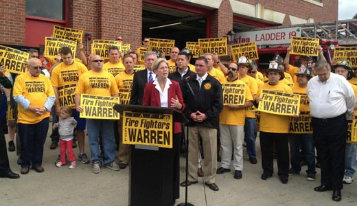 Trumka urges white working-class men to back Warren in Mass.