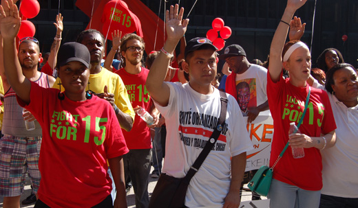 Fast-food workers meet labor movement: a super-sized duo