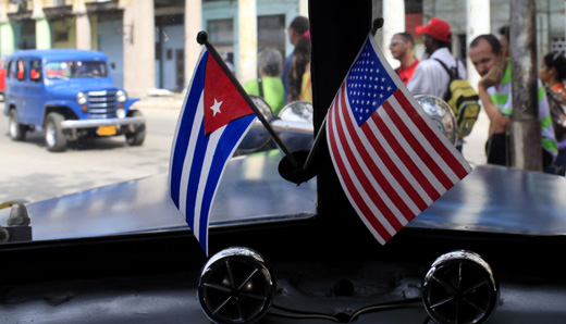 Calling out the hypocrisy of the U.S. Cuban blockade