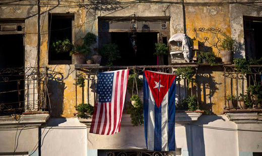 Ending of anti-Cuba policies moves forward slowly