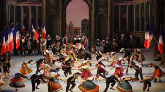 Revolutionary Soviet ballet premieres in the U.S.