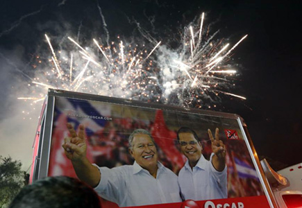 Left surges in Salvador presidential elections