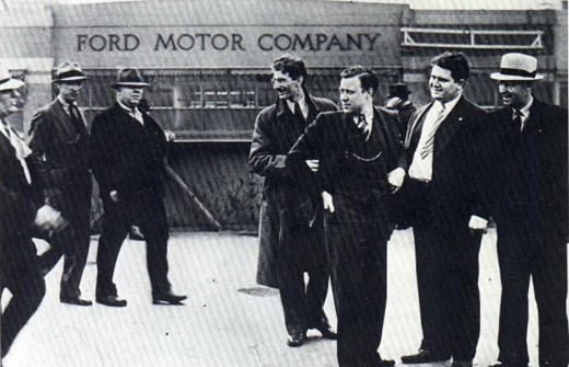 Battle of the overpass: Henry Ford, the UAW, and the power of the press