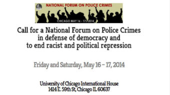National forum on police crimes to be held in Chicago