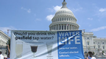 First national anti-fracking rally in D.C.