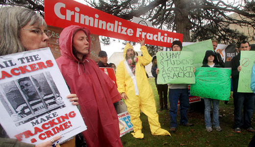 Anti-fracking activists celebrate victory in a fourth Colorado city