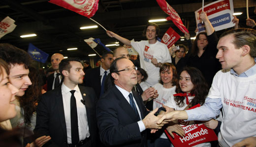 Left wins first round in French legislative vote