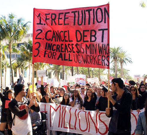 Who will pay for everybody's free college?