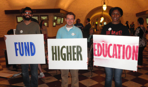 Ohio students, faculty, parents: Reinvest in higher education