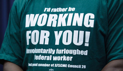 Union leaders to lawmakers: pay freezes, furloughs hit federal workers' morale