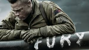 "Brad Pitt fires last shot in ""Fury"""