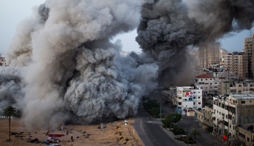 Egypt brokers Gaza talks as rocket fire continues