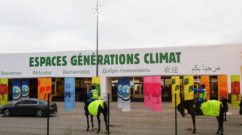 COP 21's Climate Generations is a magnet for young environmentalists